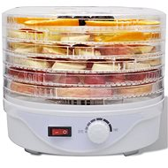 Food Dryer with 6 Stackable Trays (Round) - Food Dehydrator