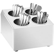 Cutlery rack 4 baskets square Stainless steel