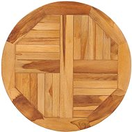 Rotating serving tray solid teak wood - Tray