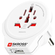SKROSS PA30USB - Travel Power Adapter