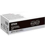 Epson S050711 Black 2-Pack - Toner