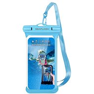 """Seaflash waterproof TPU case for smartphones up to 6.5 """"blue - Mobile Phone Case"""