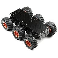 SparkFun Wild Thumper 6WD Chassis - Black (34:1 gear ratio) - Building Kit