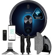SRV 9550BK 2in1 Active SuperCyclone 8,000 Pa LASER + WiFi - Robotic Vacuum Cleaner