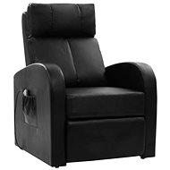 SHUMEE Massage chair black faux leather 60595 - Massage Chair