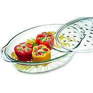 SIMAX FASHION 3.5l Oval Dish with Lid - Roasting Pan