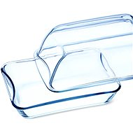 SIMAX Clear Oblong Glass Casserole 8.6l