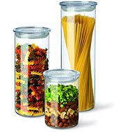 SIMAX Set of Glass Jars, 3pcs, 0.5l, 0.8l, 1.4l - Container