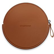 Simplehuman Sensor Compact Zip Case Brown Case with Zipper for Pocket Mirrors ST9001