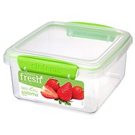 Sistema 1,2l Rectangular Green Fresh - Container