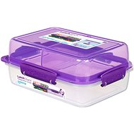 Sistema Lunch Stack Rectangle To Go Purple Online 1.8L  (4) - Container