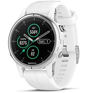 Garmin Fenix 5S Plus Sapphire White Optic Carrera White Band - Smartwatch