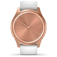 Garmin Vívomove 3 Style, Rose Gold White - Smartwatch
