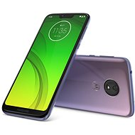 Motorola Moto G7 Power purple - Mobile Phone