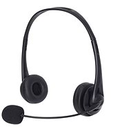 Sandberg USB Office Headset with Microphone, Black - Headphones