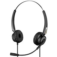 Sandberg USB Pro Stereo Headset with Microphone, Black - Headphones