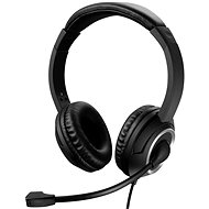 Sandberg USB Chat Headset with Microphone, Black - Headphones