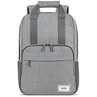 """SOLO NEW YORK RE: Claim 11"""" - 15.6"""", Grey - Laptop Backpack"""