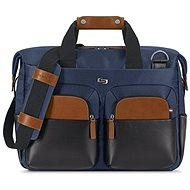 "Solo Sag Harbor Briefcase Blue 15.6"" - Laptop Bag"
