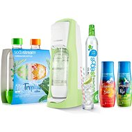 SodaStream Jet Green Grass Forest Tropical Edition 2+2 - Set