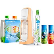 SodaStream Jet Orange Tropical Forest Edition Forest 2 + 2 - Set