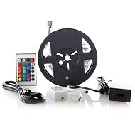 Solight LED Strip, RGB, 3m, 12V Adapter and Remote Control, 7.2W/m, IP20 - LED light strip