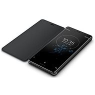 Sony SCSH70 Style Cover Stand Xperia XZ3, Black - Mobile Phone Case