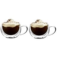 Ezystyle Cappuccino, double wall, 270 ml, 2 pcs - Thermo-Glass