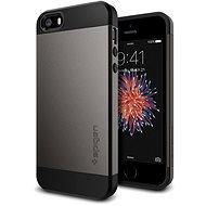 SPIGEN Slim Armor Gunmetal iPhone SE/5s/5 - Mobile Case