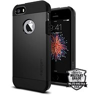 SPIGEN Tough Armour Black iPhone SE / 5s / 5 - Mobile Case