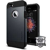 SPIGEN Tough Armour Metal Slate iPhone SE / 5s / 5 - Mobile Case