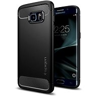 SPIGEN Rugged Armor Black Samsung Galaxy S7 Edge - Mobile Case