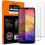 Spigen Glas.tR SLIM for Xiaomi Redmi Note 7,  Pack of  2