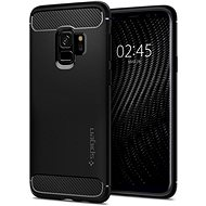 Spider Rugged Armor Black Samsung Galaxy S9 - Mobile Case