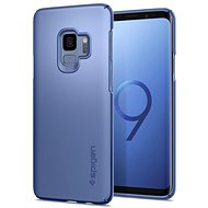 Spigen Thin Fit Coral Blue Samsung Galaxy S9 - Mobile Case