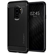 Spigen Rugged Armor Black Samsung Galaxy S9+ - Mobile Case