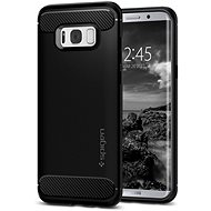 Spigen Rugged Armor Black Samsung Galaxy S8+ - Mobile Case