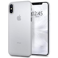 Mobile Case Spigen Air Skin Clear iPhone XS/X - Kryt na mobil