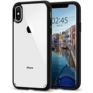 Mobile Case Spigen Ultra Hybrid Matte Black iPhone XS/X - Kryt na mobil