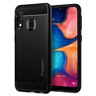 Spigen Rugged Armor Black Samsung Galaxy A20e - Mobile Phone Case