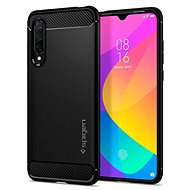 Spigen Rugged Armor, Black, for Xiaomi Mi 9 Lite - Mobile Case