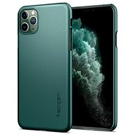 Spigen Thin Fit, Green, for iPhone 11 Pro - Mobile Case