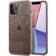 Spigen Liquid Crystal Glitter, Rose, iPhone 12/iPhone 12 Pro