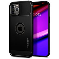 Spigen Rugged Armor, Black, iPhone 12 Pro Max