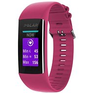 Polar A370 Ruby Red Size S - Fitness Bracelet