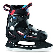 Fila J-One Ice HR Black/Red/Blue - Child ice skates