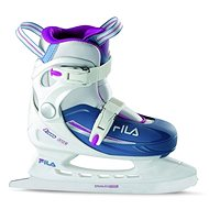 Fila J-One G Ice HR White/Light Blue - Girls ice skates