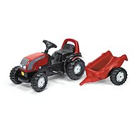 Rolly Kid Valtra with a Trailer - Pedal Tractor