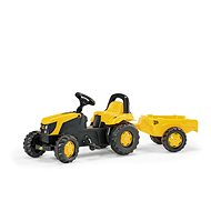 Rolly Kid JCB with a Trailer - Pedal Tractor