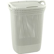 Curver Laundry Basket Knit 57L Cream